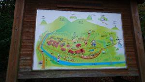 松阪森林公園案内図