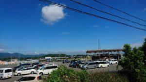 中部台運動公園駐車場