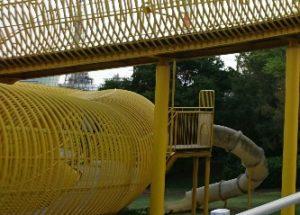 シドニー港公園すべり台