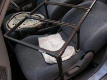 車中泊自作ベッドマーチ