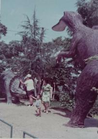 松阪公園恐竜