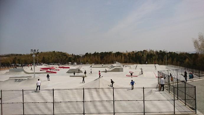 松阪総合運動公園スケートパーク
