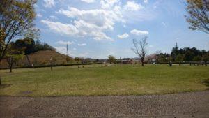 上川町遊歩道公園多目的芝生広場