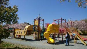 上川町遊歩道公園コンビネーション遊具