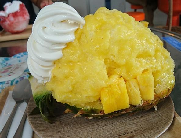パイナップル氷