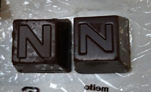 メイトーアルファベットチョコレート