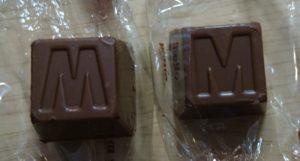 アルファベットチョコレート