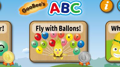 幼児用アルファベット学習アプリ