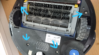 ルンバ互換バッテリーに交換